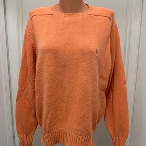 POLO Ralph Lauren cotton crewneck sweater vintage